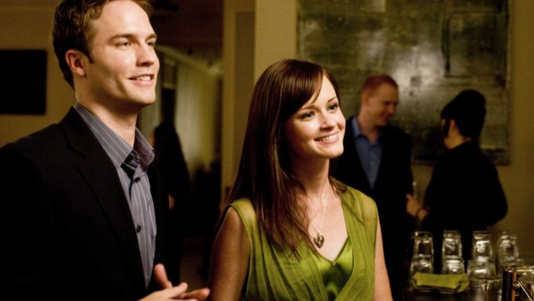 Alexis Bledel and Scott Porter play Beth and Tommy in The Good Guy - Production design by Tommaso Ortino