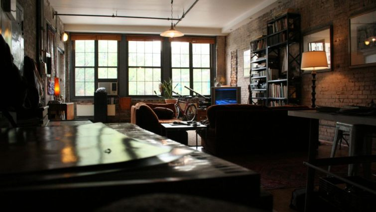 Daniel's apartment in The Good Guy