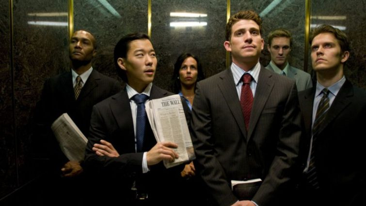 Bryan Greenberg plays Daniel - Elevator scene The Good Guy - Production design by Tommaso Ortino